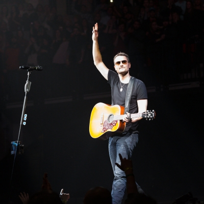 Eric Church plays first show of Holdin' My Own Tour at Lincoln, Neb.'s Pinnacle Bank Arena on Friday, Jan. 13 Credit: J. D. Lyon, Jr.