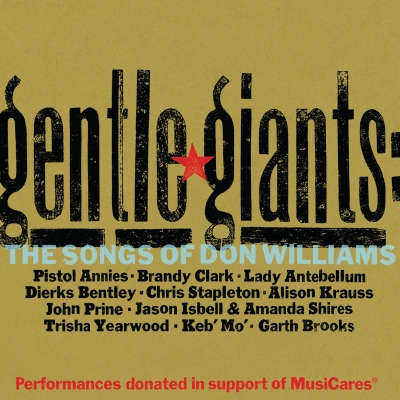 Gentle Giants: The Songs of Don Williams Album Art Courtesy of Slate Creek Records