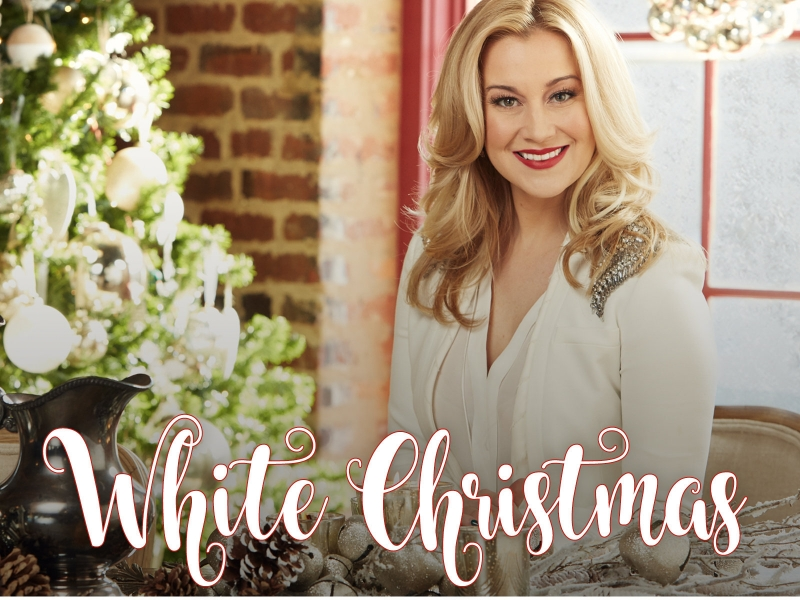 Kellie Pickler White Christmas Art