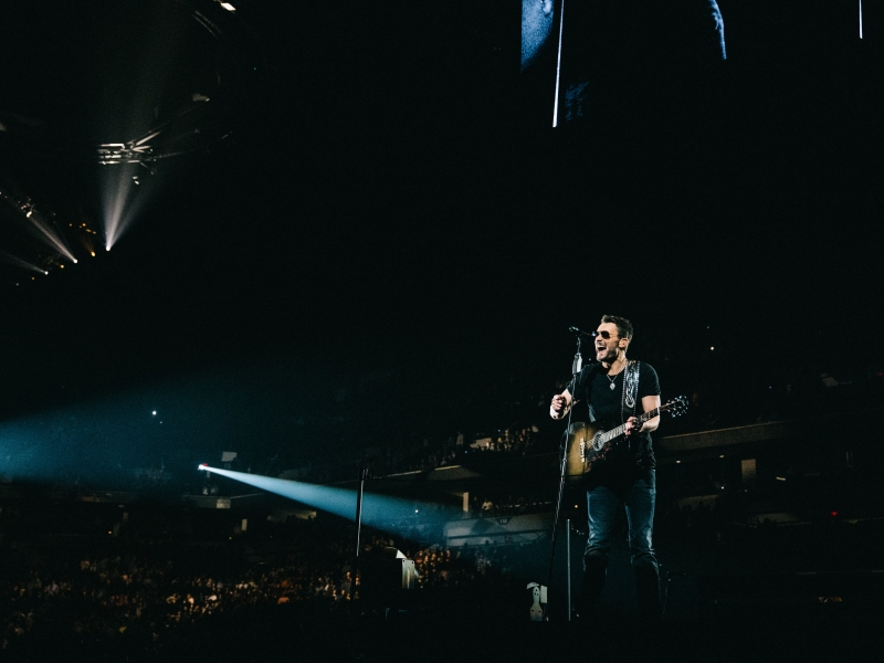 Eric Church plays to a sold-out crowd at Minneapolis, Minn.'s Target Center