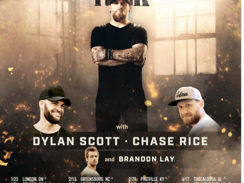 Brantley Gilbert Turns Up The Heat In 2020 With New Fire T