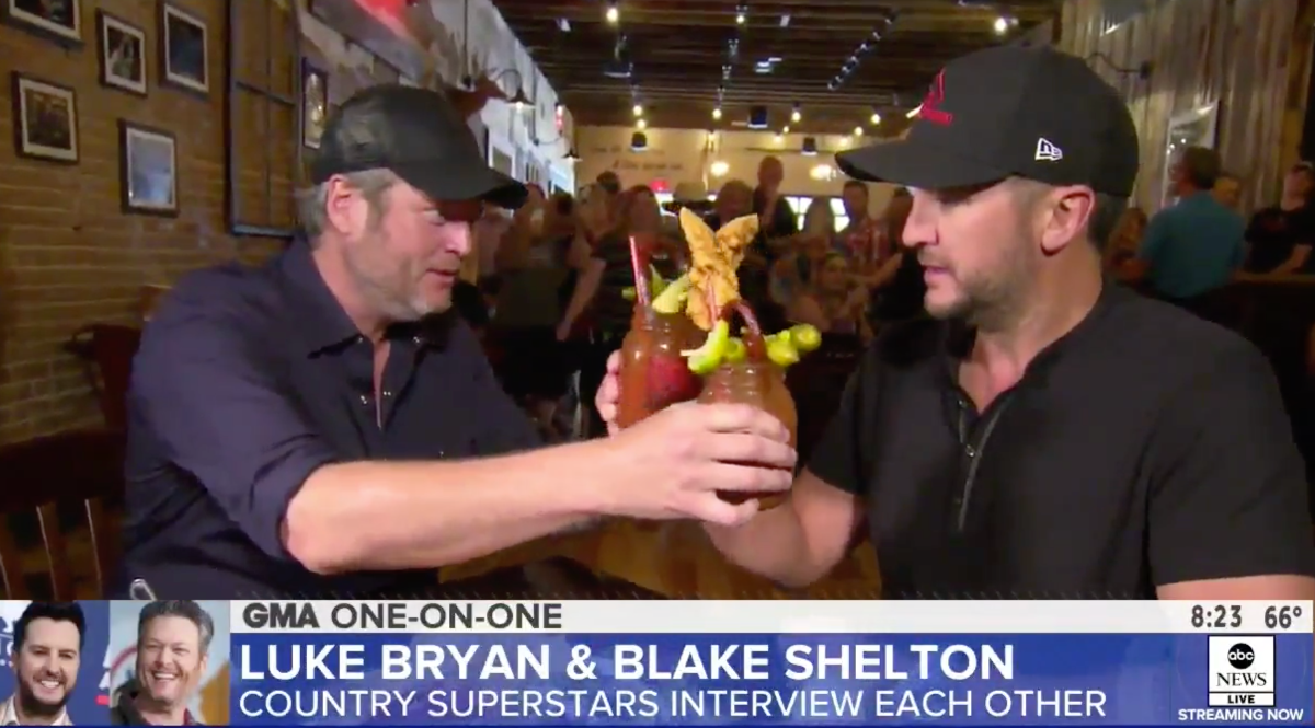 "ABC's ""GOOD MORNING AMERICA"" TAGS ALONG WITH BLAKE SHELTON"